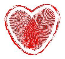 Hearth fingerprint Photographic Print