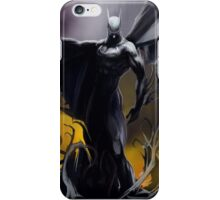 Batman So Dark! :o iPhone Case/Skin