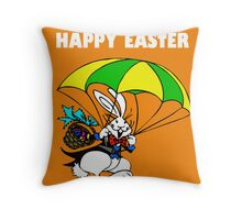 Just dropped in to say..... HAPPY EASTER Throw Pillow