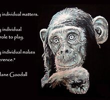 A Jane Goodall quote by ARTito