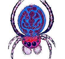 Peacock Spider #2 by Jason Castillo