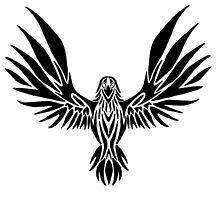 Tribal Raven by KatsuPurr