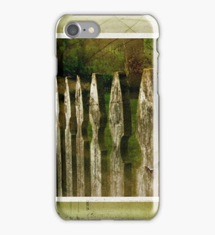 Fence Mending iPhone Case/Skin