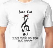 The Jazz Cat Sings Unisex T-Shirt