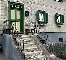 Old stairs  by Klaus Offermann