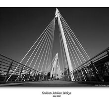 Golden Jubilee Bridge by CadmannUK