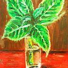 Green Leaves by Alan Hogan
