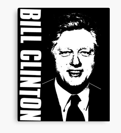 BILL CLINTON-2 Canvas Print
