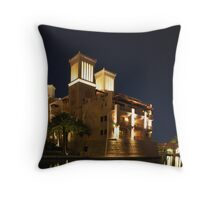 Madinat Jumeirah Throw Pillow
