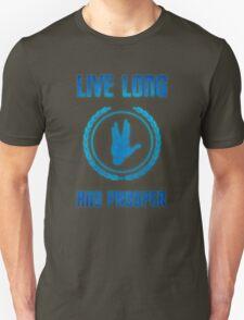 Live Long and Prosper - Spock's hand - Leonard Nimoy Geek Tribut Unisex T-Shirt
