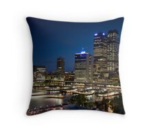 Rush Hour in Sydney Throw Pillow
