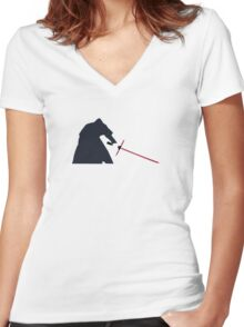 Star Wars Episode VII: The Force Awakens Women's Fitted V-Neck T-Shirt