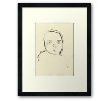 baby (2014) Framed Print