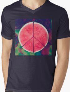 Peace Delicious EP Raglan Mens V-Neck T-Shirt