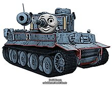 Tomas the Tank by dkrentz