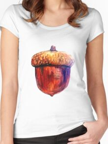 Acorn Women's Fitted Scoop T-Shirt