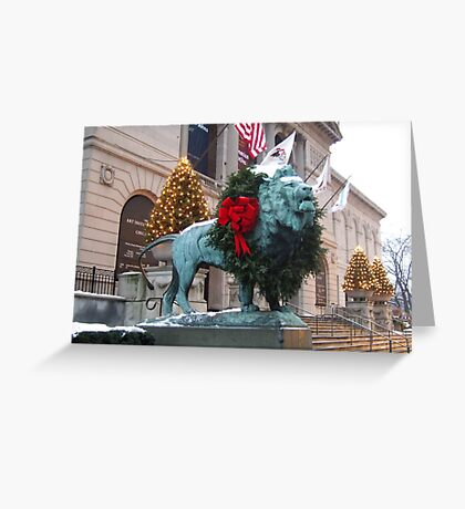CHICAGO TRADITION Greeting Card