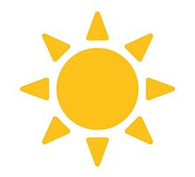 Black Sun With Rays Google Hangouts / Android Emoji by emoji