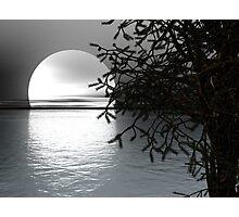 Evening at Sea Photographic Print