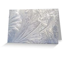 Etched in Ice Greeting Card