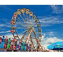 A Drink at the Fair Photographic Print