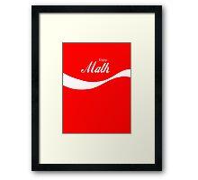 Enjoy Math Framed Print