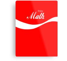 Enjoy Math Metal Print