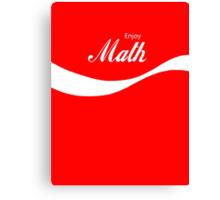 Enjoy Math Canvas Print