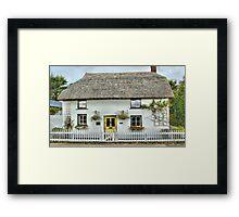 Comptons Cottage Framed Print