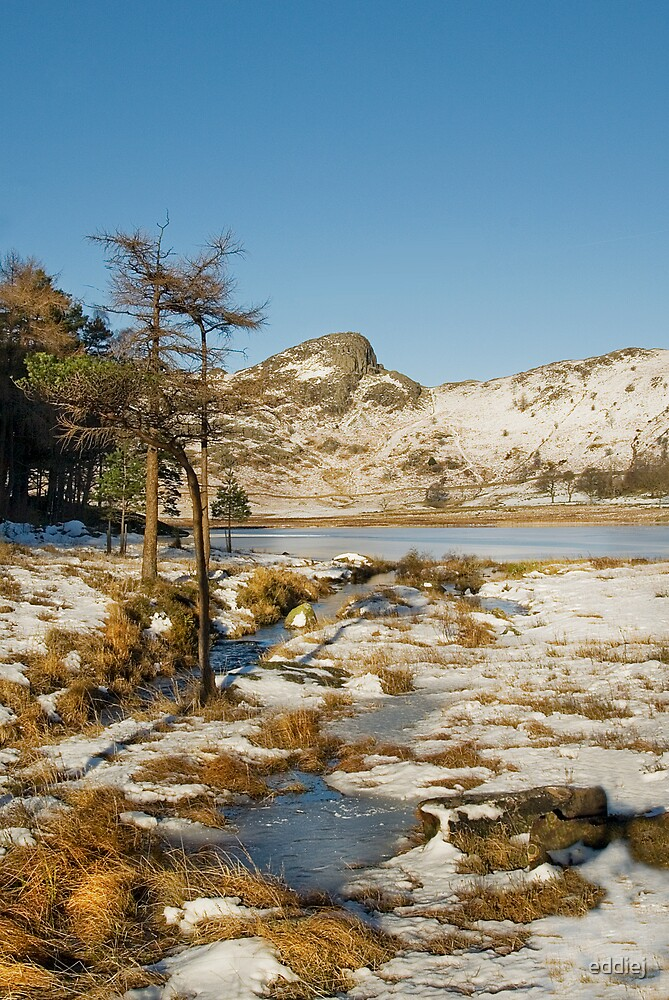Across Blea Tarn - Lake District -  Cumbria by eddiej