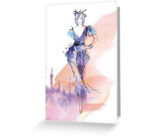 Fashion Ilustration Greeting Card
