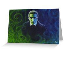 Dracula (Christopher Lee) Greeting Card