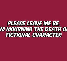 The death of a fictional character by Nana Leonti