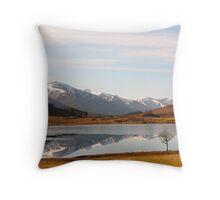 Glen Cannich Scotland Throw Pillow
