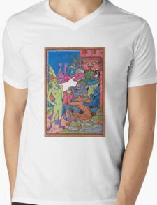 Contract with the Devil Mens V-Neck T-Shirt