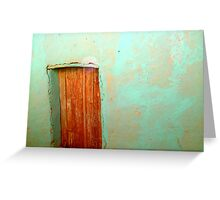 Small Door Greeting Card