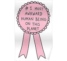 Most Awkward Human Being Poster