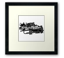 Trumpet and styles Framed Print
