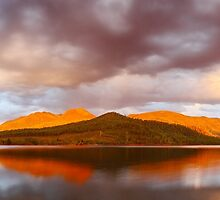 Lake Buffalo Sunset, Victoria, Australia by Michael Boniwell