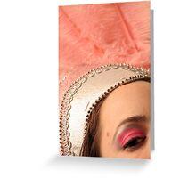 Showgirl Greeting Card