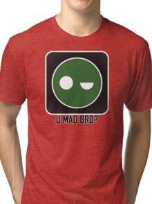 Superintendent U MAD BRO? (Winking SI) Tri-blend T-Shirt