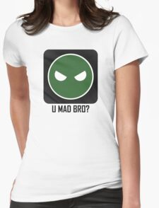 Superintendent U MAD BRO? Womens Fitted T-Shirt