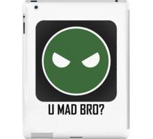 Superintendent U MAD BRO? iPad Case/Skin