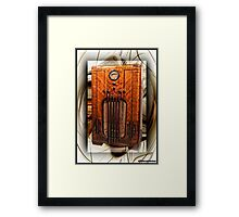 Late Great 78's Framed Print