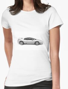 1997 Lotus Esprit V8 sports car art photo print Womens Fitted T-Shirt