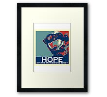 FC BLUE Hope Framed Print