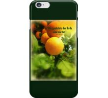 ORANGERIE iPhone Case/Skin