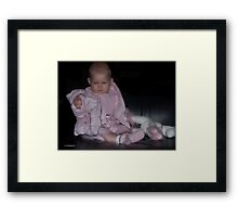 Our Little Princess Framed Print