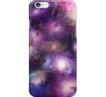 Galaxy Blues and Pinks iPhone Case/Skin