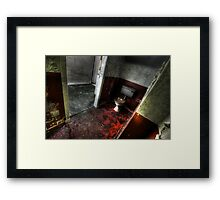 Red Room Framed Print